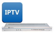 TV Stream Monitor - TSoIP Monitoring